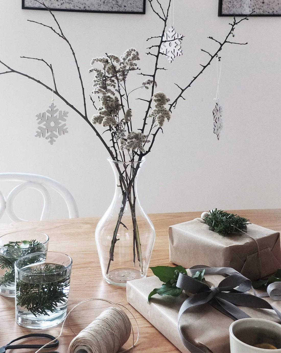 świąteczne dekoracje, bożenarodzenie, zima